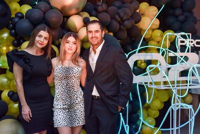María, Mayra y Sergio.