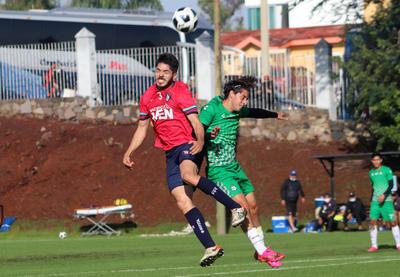 Con gol de Omar Campos y Jeraldino, Santos termina pretemporada con triunfo
