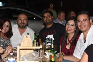 17072021 Rocío, Jaquie, Roberto y Cristina.