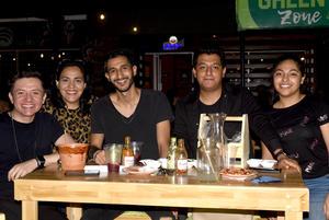 17072021 Liliana, Humberto, Humberto Jr., Nátaly y Eduardo.