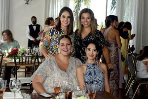 19072021 Karla Wong, Pily Macías, Caro Corona y Liz Riosvelasco.