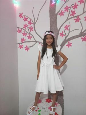 18072021 Ruby Alejandra Estrada Cruz festejando su cumpleaños número 9 el pasado 14 de julio.