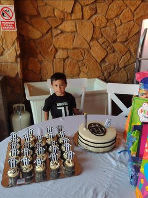18072021 Oswaldo Guadalupe Estrada Arguijo festejando sus 5 años el pasado 8 de julio.