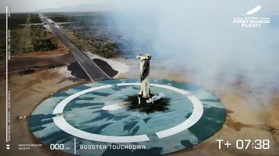 Desde hoy Bezos es otro multimillonario que se erige en pionero del turismo más allá del planeta, luego de que Branson, a sus 70 años, alcanzará las fronteras del espacio a bordo de un avión fabricado por su compañía Virgin Galactic, con el que, a una velocidad tres veces superior a la del sonido, cruzó los 80 kilómetros (49 millas) de altura.