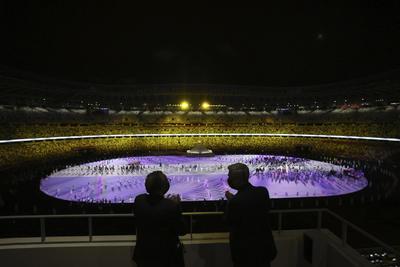 Ceremonia de apertura de los Juegos Olímpicos de Tokio 2020