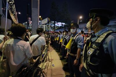 Repuntes de COVID en Tokio desatan protestas en inauguración de los Juegos Olímpicos