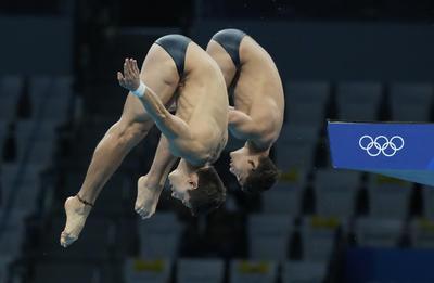 Kevin Berlín y Diego Balleza 'acarician' el podio en Tokio 2020