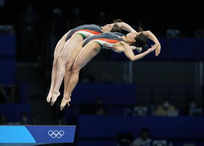 Gabriela Agúndez y Alejandra Orozco ganan bronce en plataforma sincronizada de Tokio 2020