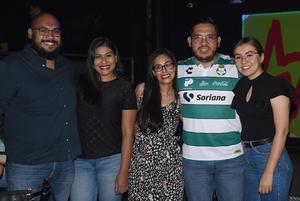 26072021 Antonio, Mayela, Adriana, Hugo y Karime.