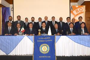 24072021 Toma de protesta de la nueva mesa directiva del Club Rotario Torreón Laguna.