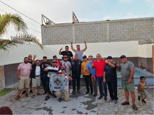 25072021 Reunión social de hermandad Biker TRC celebrando el cumpleaños de Jesús Armando Castillo García (el carnalito).
