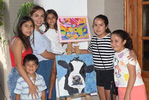 28072021 Roberta, Isabella, Nina, Miranda, Mariano y Magda.