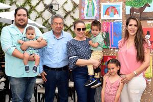 28072021  Lorena Marcos, Alejandra Ramos, Alfonso Cárdenas, Alfonso Cárdenas Jr.