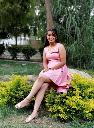 30072021 Graduada de primaria, Ashley Daniela D'Sampers Martínez.