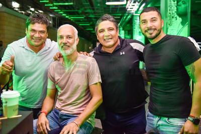 Pedro Muñoz, Wagner de Souza, Lupe Rubio y José Antonio Olvera.