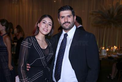 Cristina y Daniel Murra.