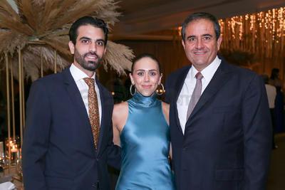 José, Sofía y José Murra.