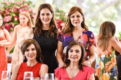 Lety de Herrera, Alejandra Fernández, Any de Mena y Perla Enríquez.