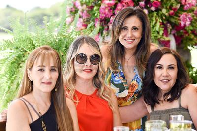Susy Anaya, Pily Guerrero, Mónica Sáenz y Ale Habib