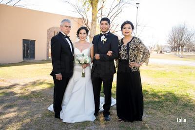 Los papás de la novia