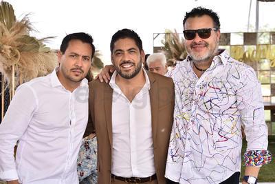 Juan Pablo, Beto y Guillermo.