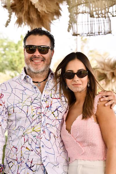 Guillermo y Daniela Serrano.