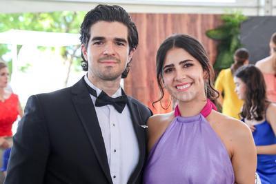 David González y Ana Cristina Gastelum.