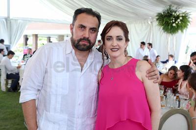 Jesús Bravo y Lucía Salas.