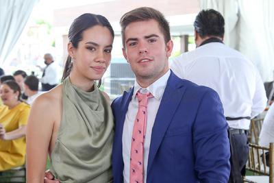Alejandra Rocha y Eduardo Salazar.