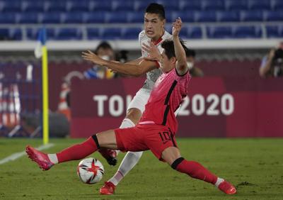 Los surcoreanos venían de aplastar 6-0 a Honduras en el cierre de la fase de grupos, pero esta vez el equipo asiático no tuvo manera de frenar, ni reaccionar ante la tromba que fue representante de la CONCACAF.