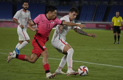 Vega dejó a Luis Romo solo frente al arquero Bum Keun Song. El volante del Cruz Azul definió en dos tiempos y sin que el esférico tocara el pasto. Golazo (30').
