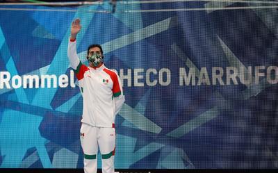 Rommel Pacheco vive su última competencia antes de retirarse