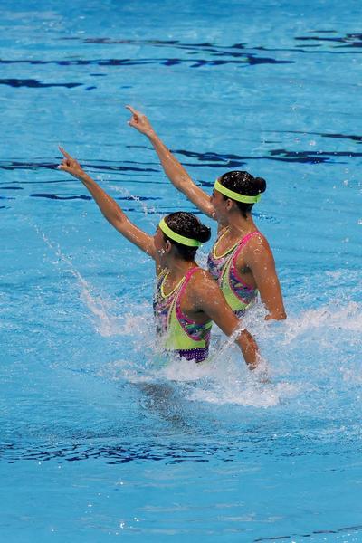 Dúo mexicano disputará la final de nado sincronizado en Tokio 2020