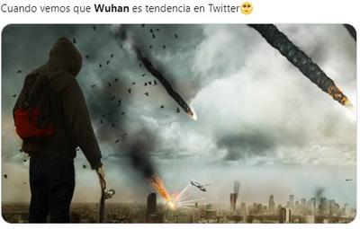 Wuhan regresa a la tendencia global e internautas reaccionan