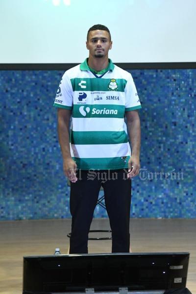 Alessio Da Cruz se integra a la familia Guerrera de Santos Laguna