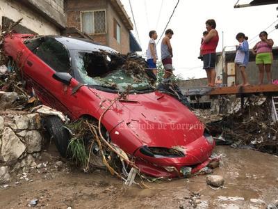Afectaciones de las lluvias en La Laguna