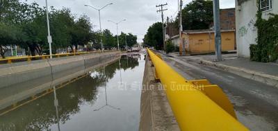 Este Paso Inferior Vehicular, conocido también como el desnivel, es el único de Lerdo y no sirve durante las lluvias.