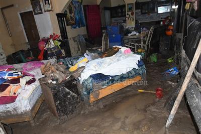 El titular José Miguel Martínez Mejía, informó que fueron 10 las colonias que resultaron más afectadas por la lluvia que se registró ayer poco después de las 19:00 horas.