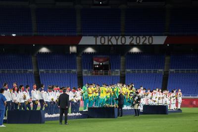 Fútbol: España - Brasil