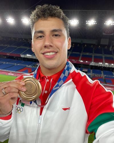 México recibe la medalla de bronce tras el final del futbol en Tokio 2020