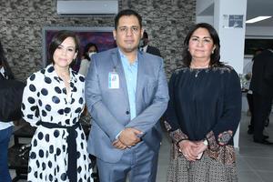 07082021 Lorena Gutiérrez, Ing. David García y Juana María Valdez de Martínez.