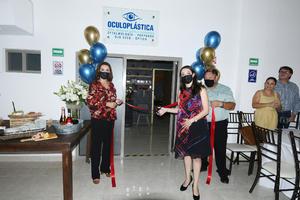 08082021 El pasado 17 de Julio fue la inauguración del nuevo consultorio de oftalmología y oculoplástica por parte de la dra. Adriana Dávila Camargo. Ubicado en Blvd. Diagonal Reforma #2326 Ote. Lagumédical.