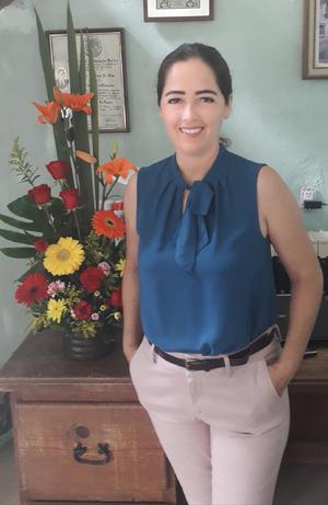 08082021 Elizabeth Nájera celebra su cumpleaños este mes en compañía de su esposo Federico y su hijo Federico Abraham.