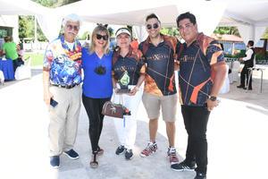 12082021 José González, Gloria González, Betty Sánchez, Alejandro Martínez y Urim González.