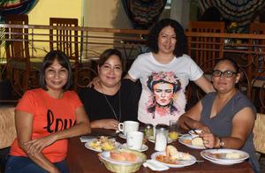 12082021 Aracely García, Raquel Gutiérrez, Elizabeth Morales y Poli Torres.
