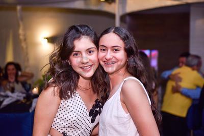 Estrella Rodríguez y Fátima Sánchez.