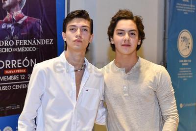 Alberto y Jaime Olivier.