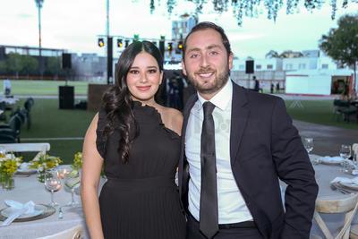 Valeria Moreno y Ángel Gilio.