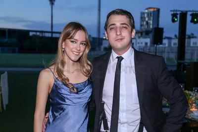 Ana Toledo y Tomas Wheelock.