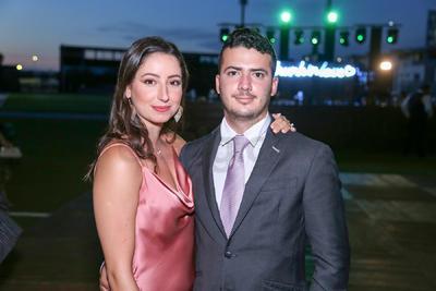Pilar Silveyra y Diego González.